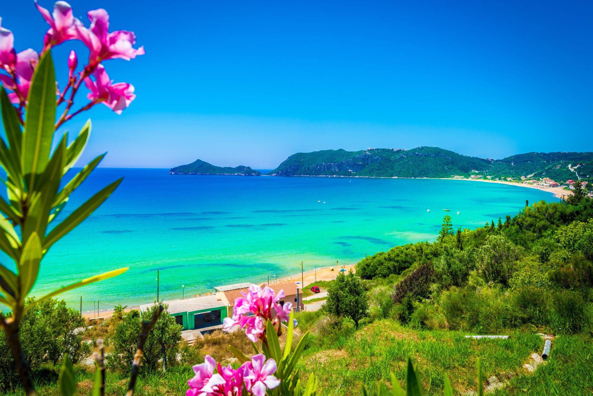 Korfu wybrzeże