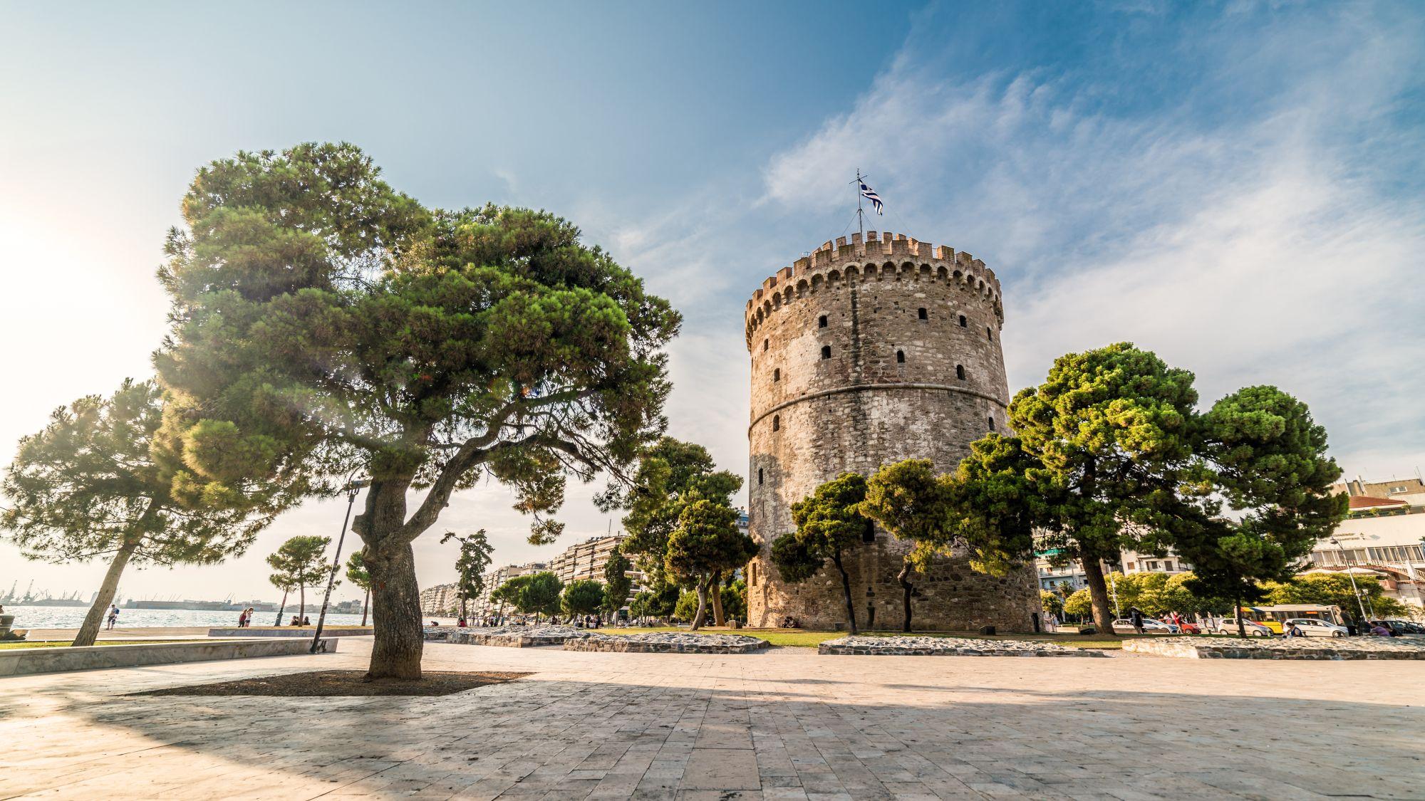 Wieża w Salonikach