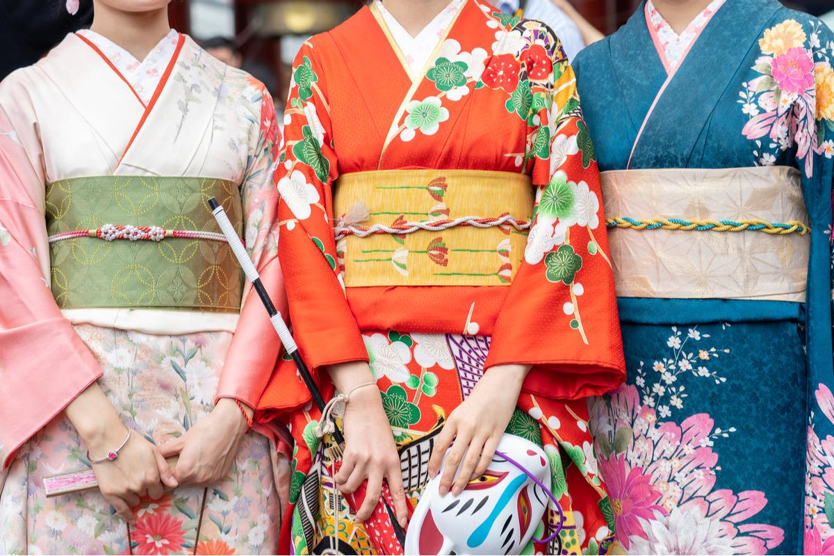 Geishe w Tokio