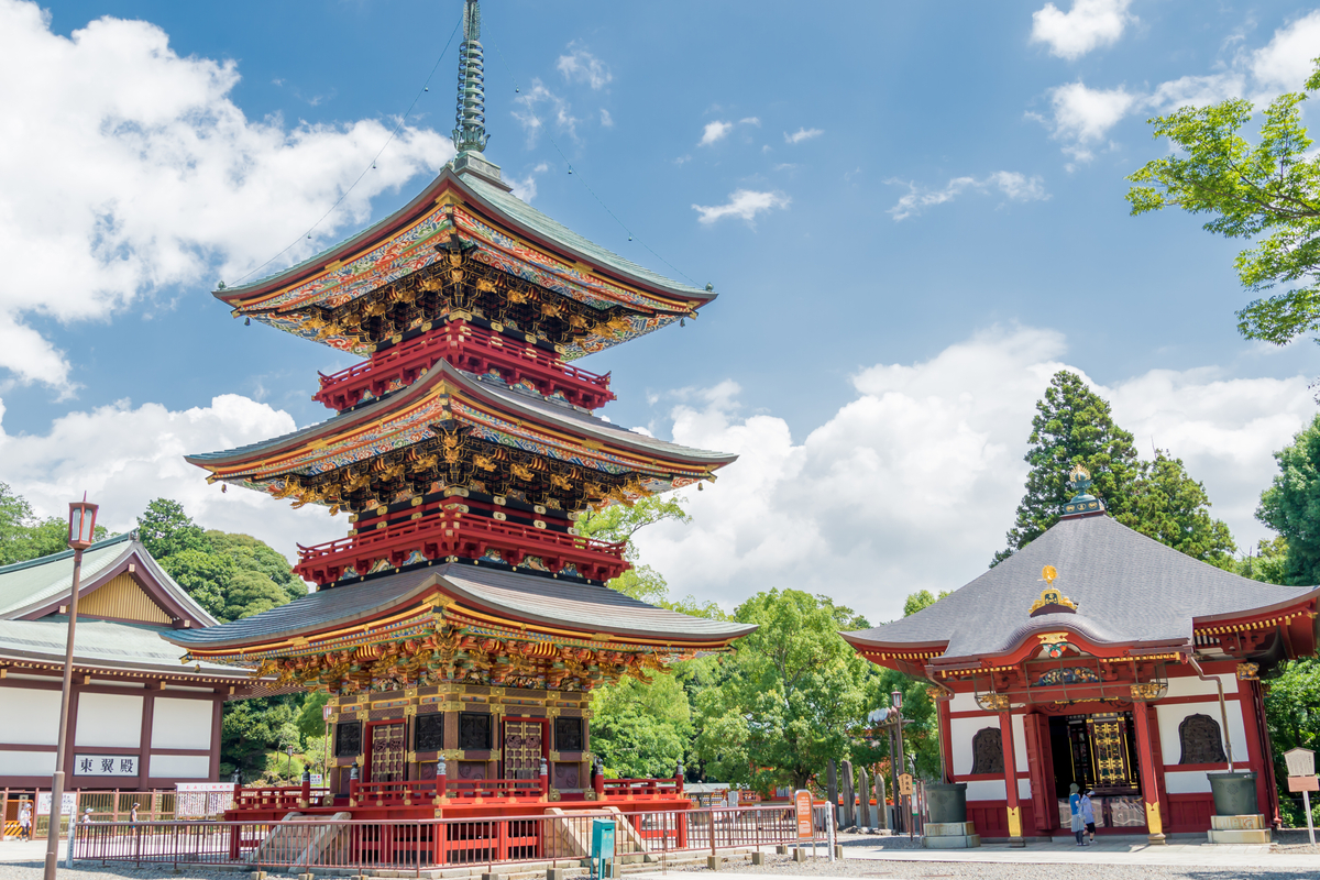 Tokio Narita świątynia