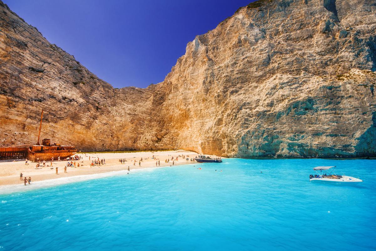 Zakynthos plaża