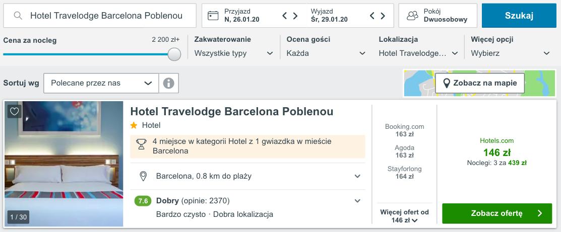 zarezerwuj hotel w barcelonie