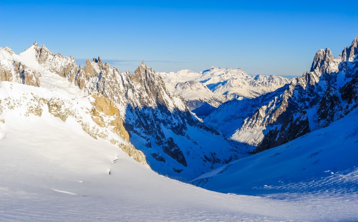 góry w dolinie aosty