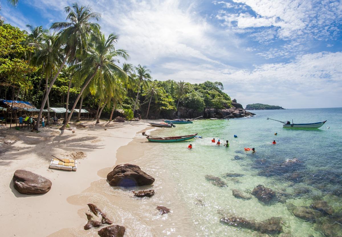plaża na phu quoc