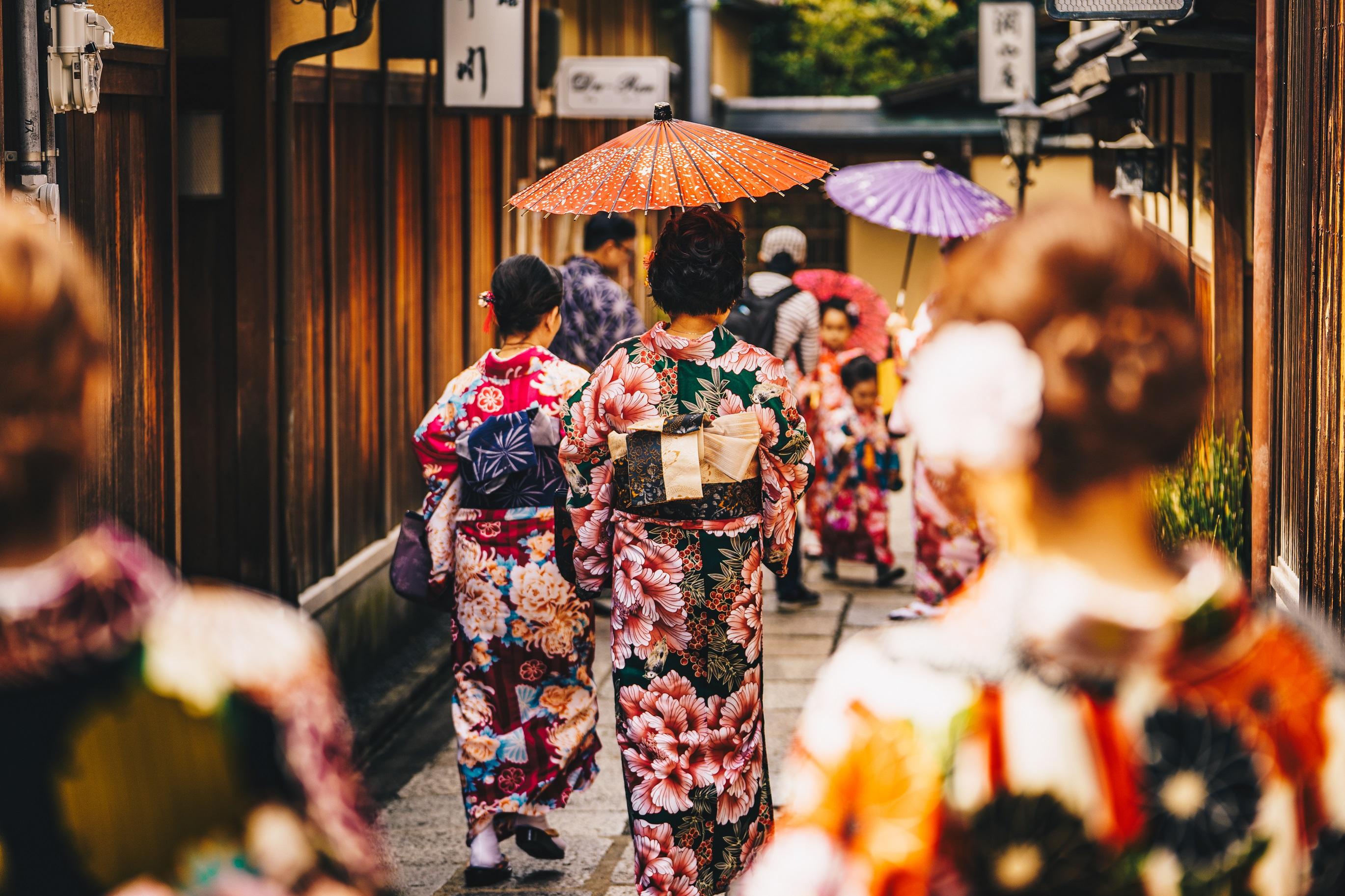 gejsze kioto