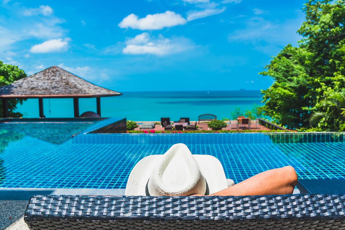 widok z hotelu Phuket