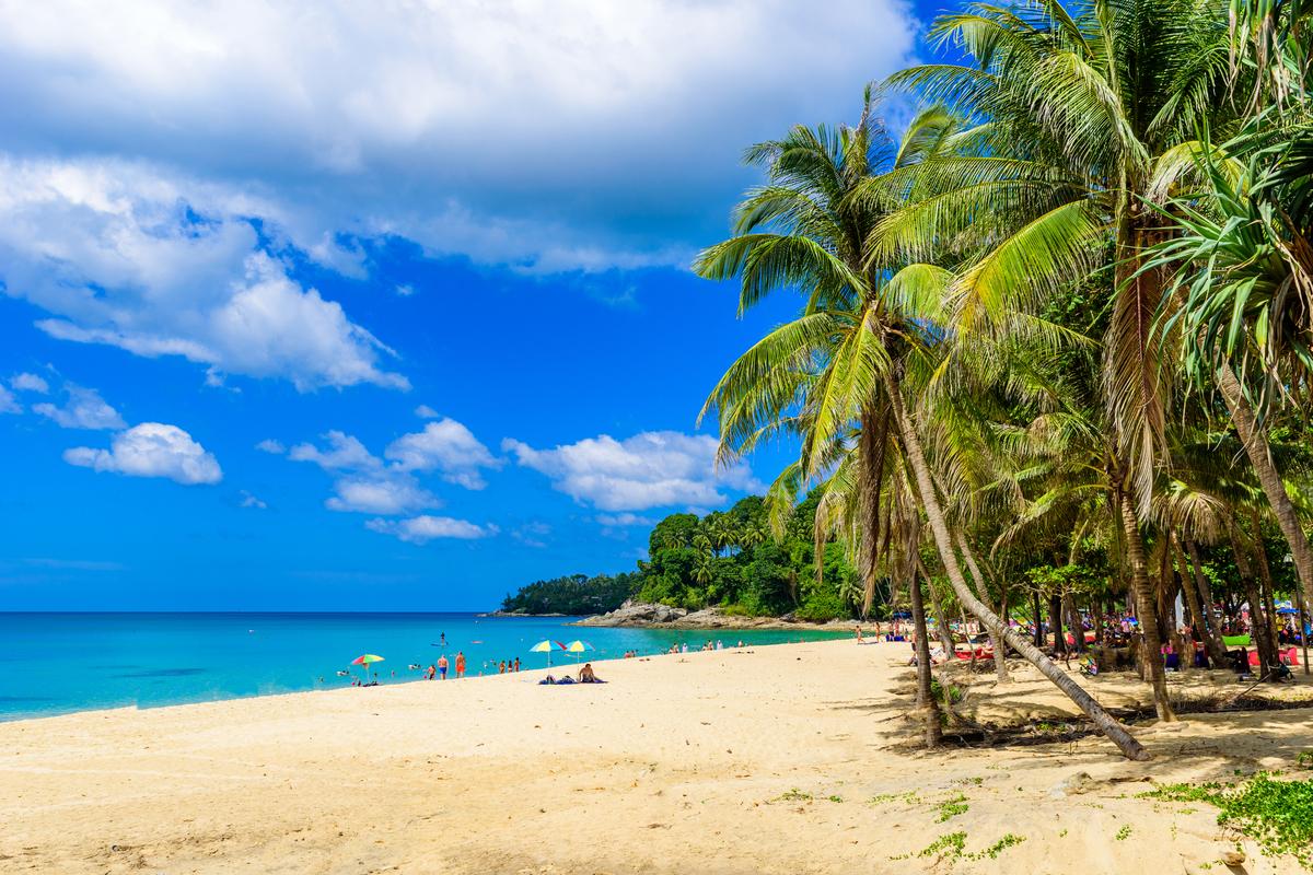 plaża na Phuket