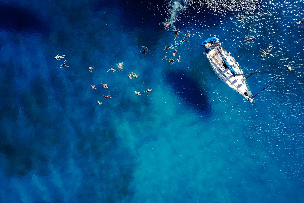 łódź na Barbados