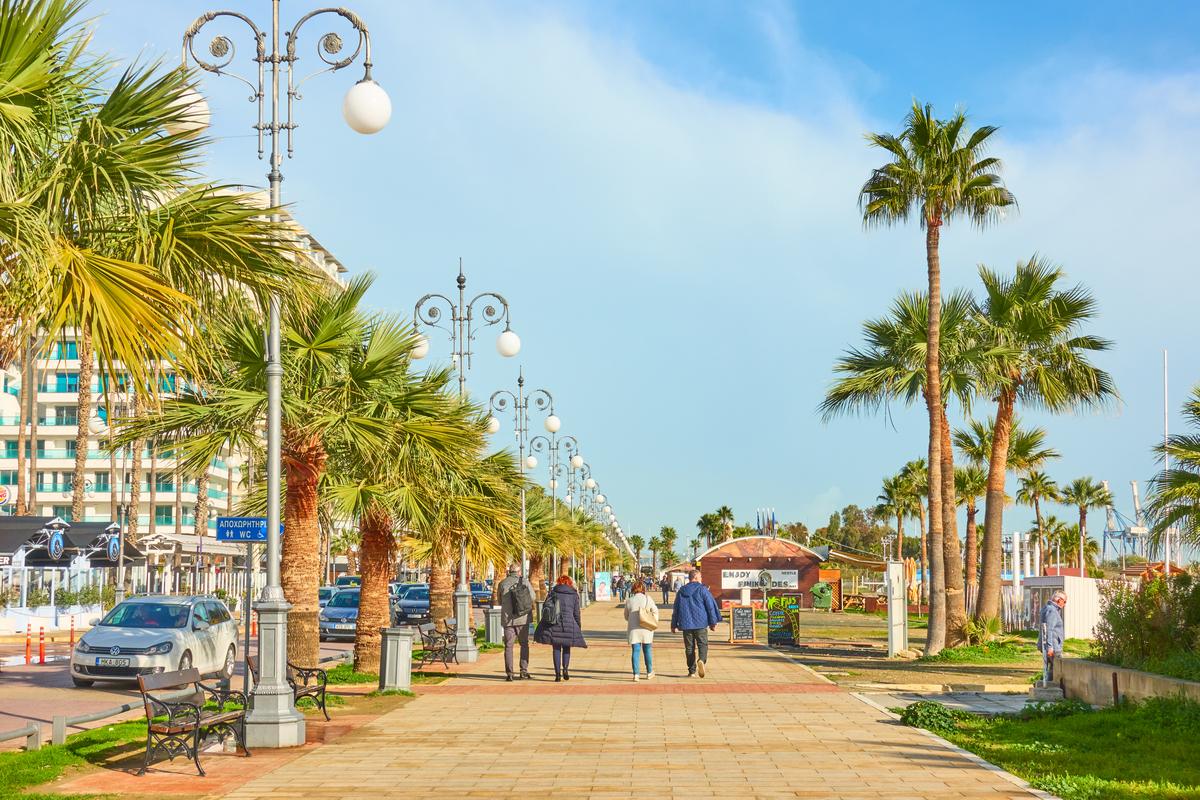 Larnaka promenada