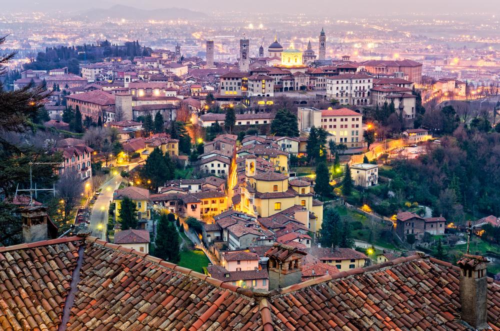 Bergamo stare miasto