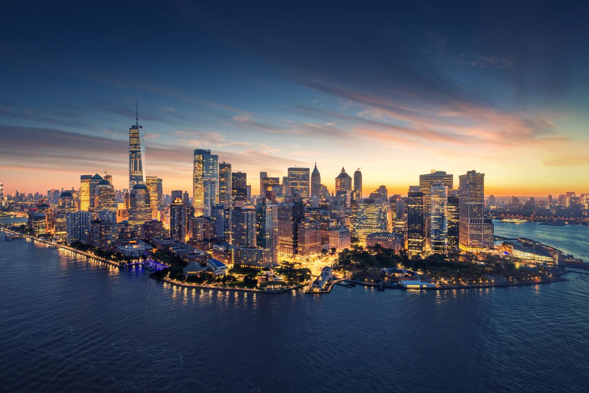Nowy Jork panorama