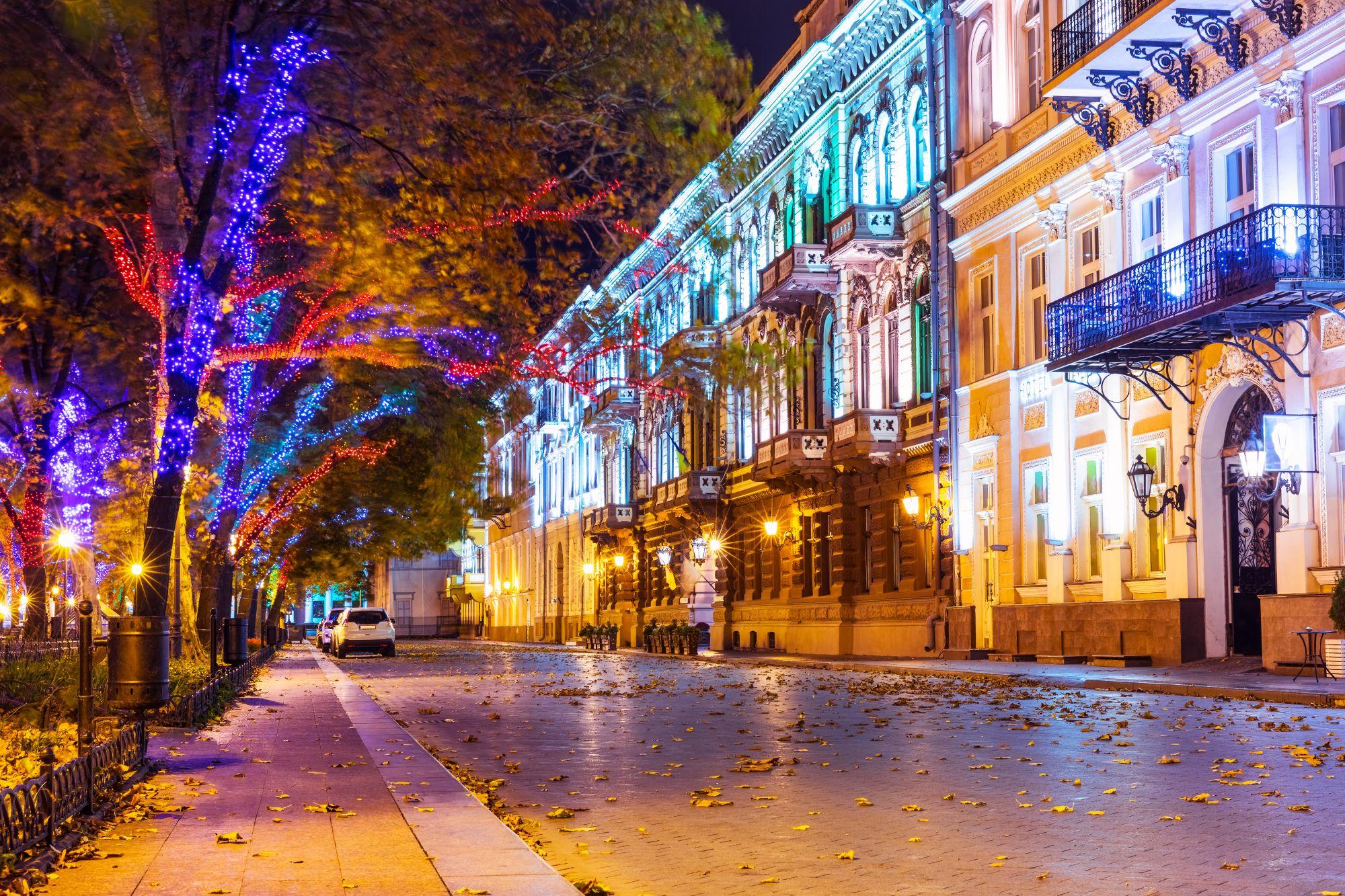 Ulica w Odessie