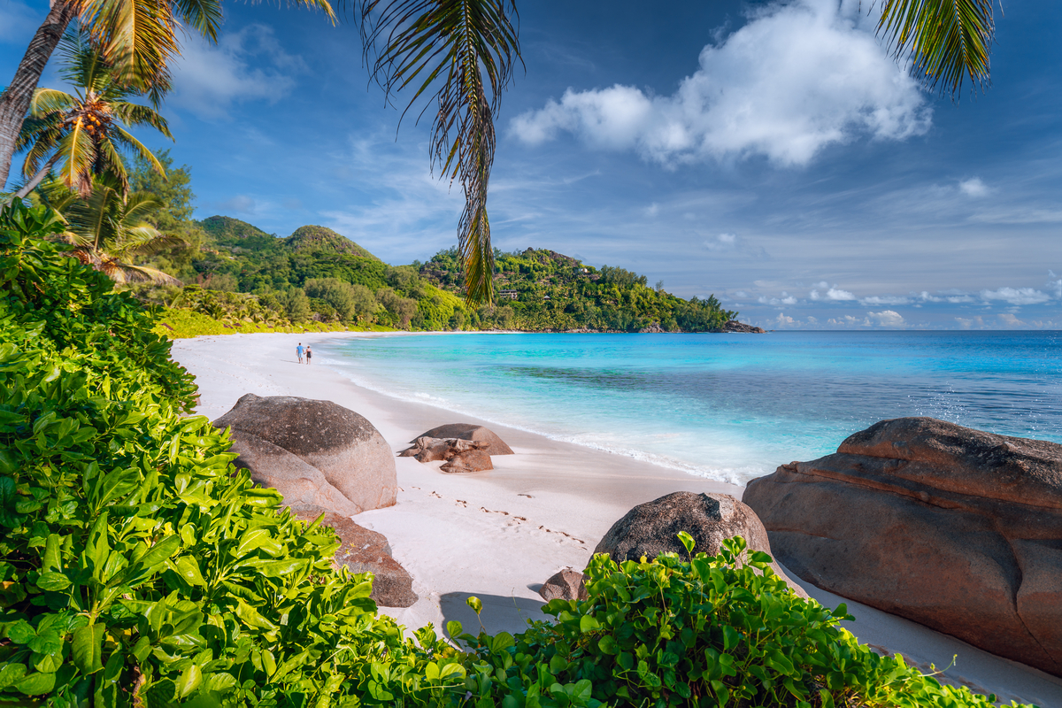 Mahe plaża
