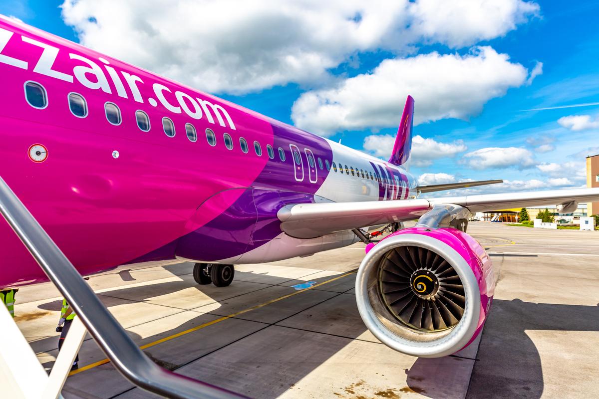 Wizz Air samolot