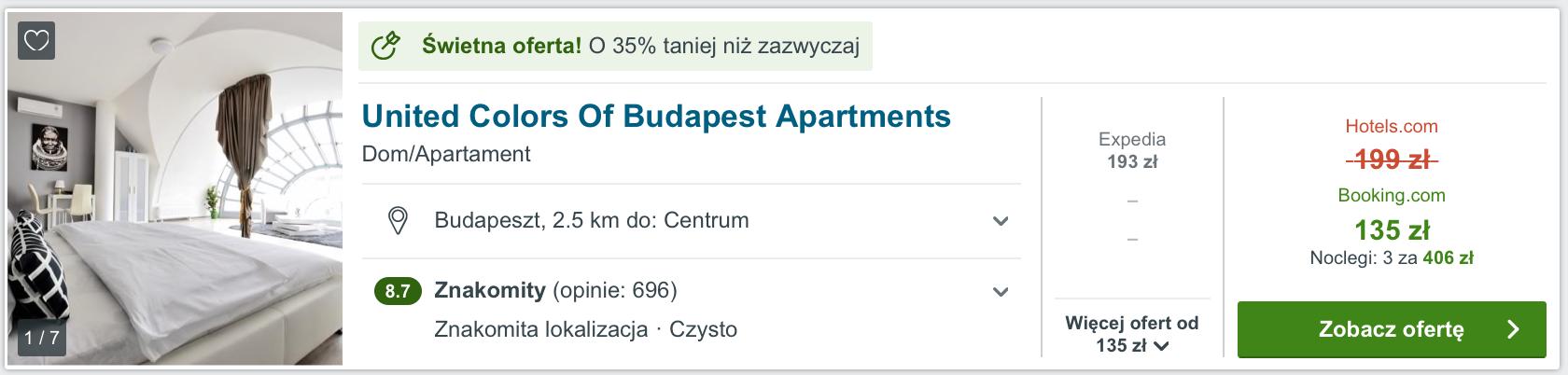 budapeszt hotel