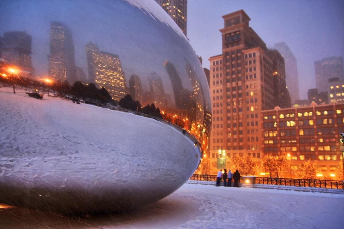 chicago zima