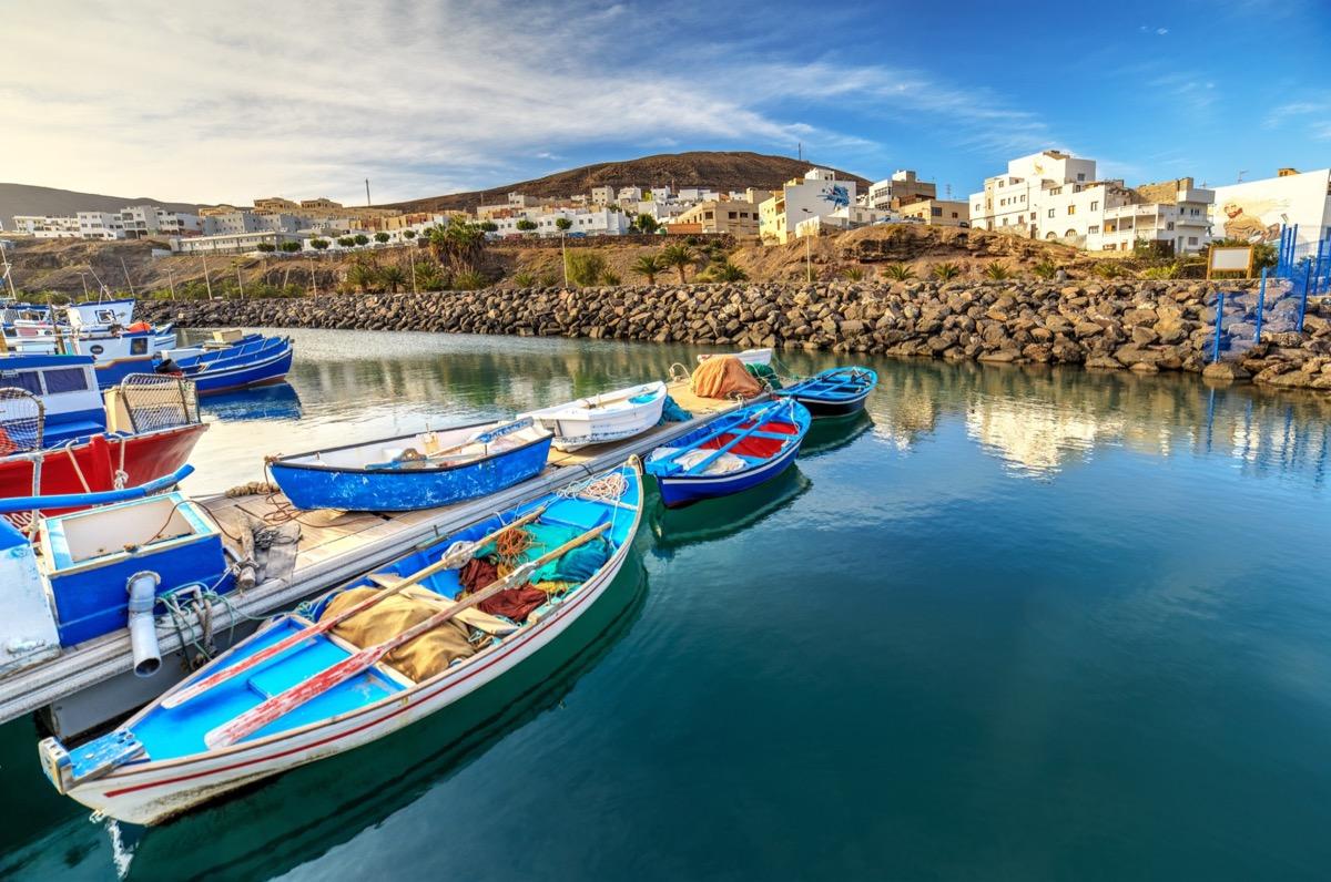 łódki fuerteventura