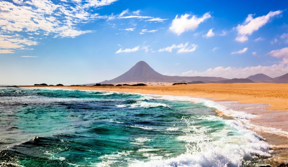 fuerteventura wybrzeze