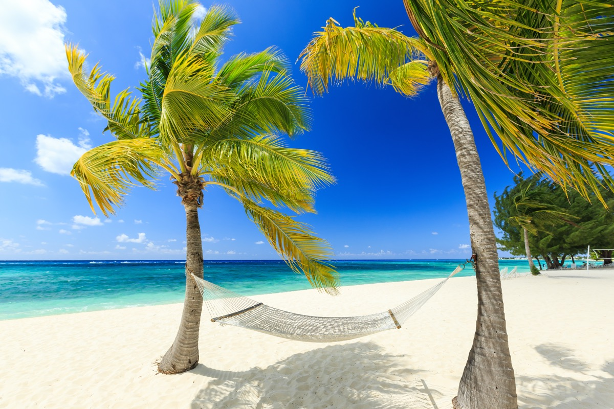 plaża na kajmanach