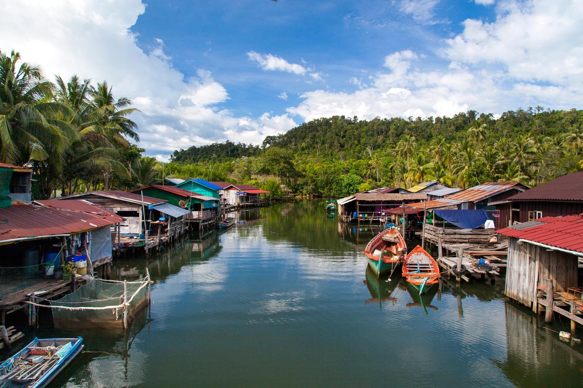 jezioro kambodża