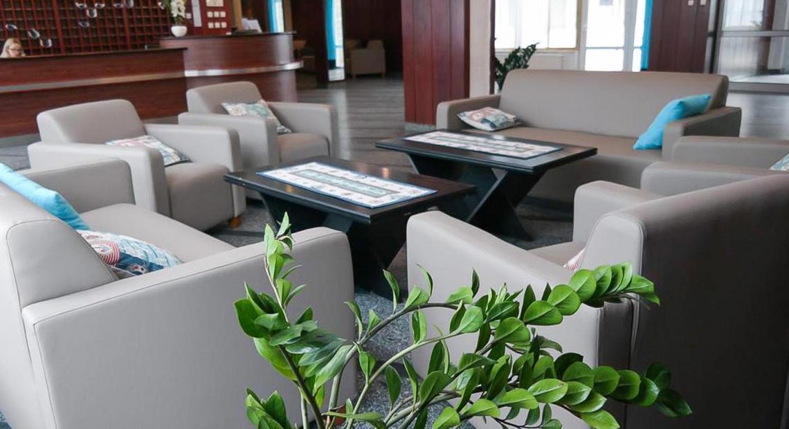 Hotelowy lobby