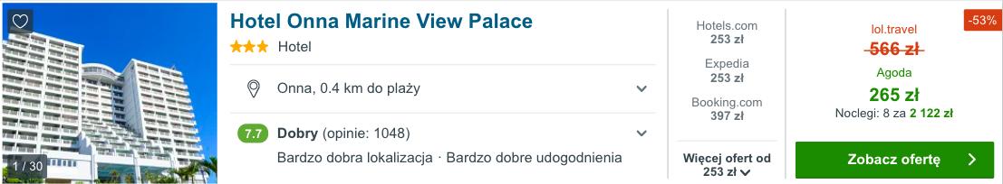 zarezerwuj hotel na okinawie