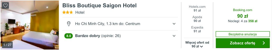 zarezerwuj hotel w ho chi minh