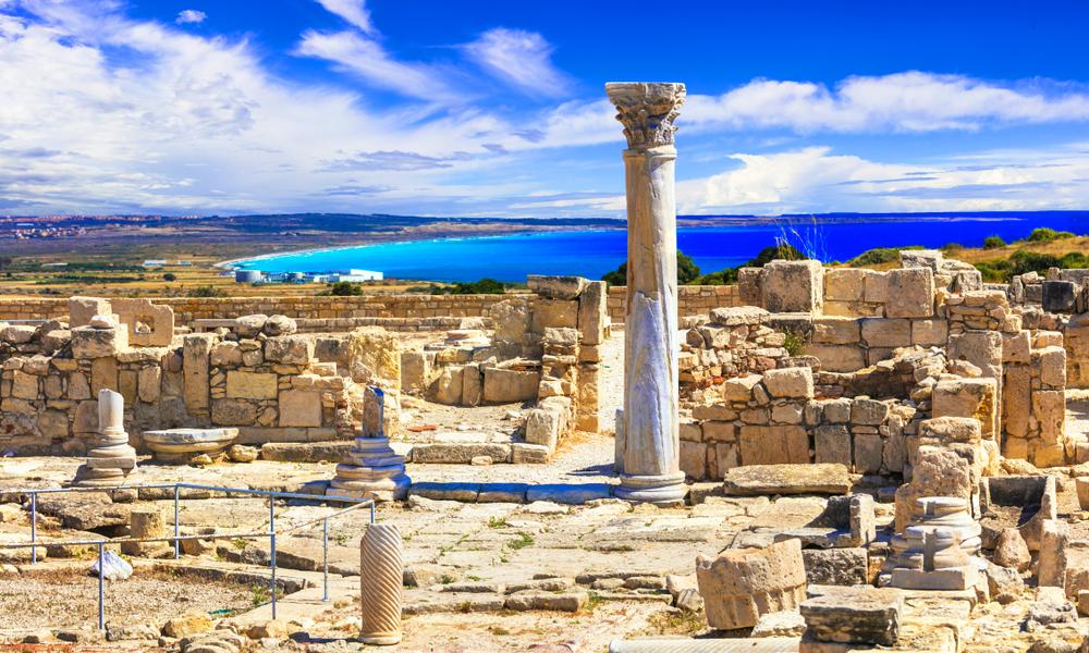 Kourion temple