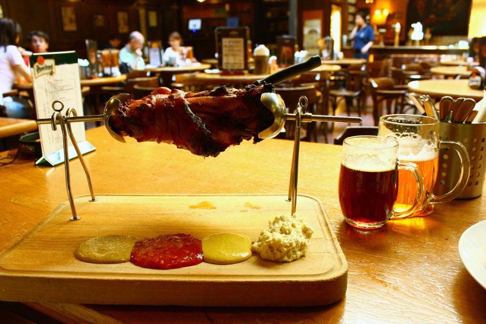 Restauracja w Pradze