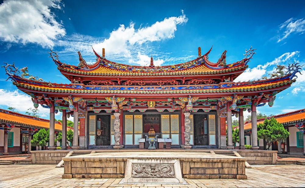 Świątynia w Tajpej