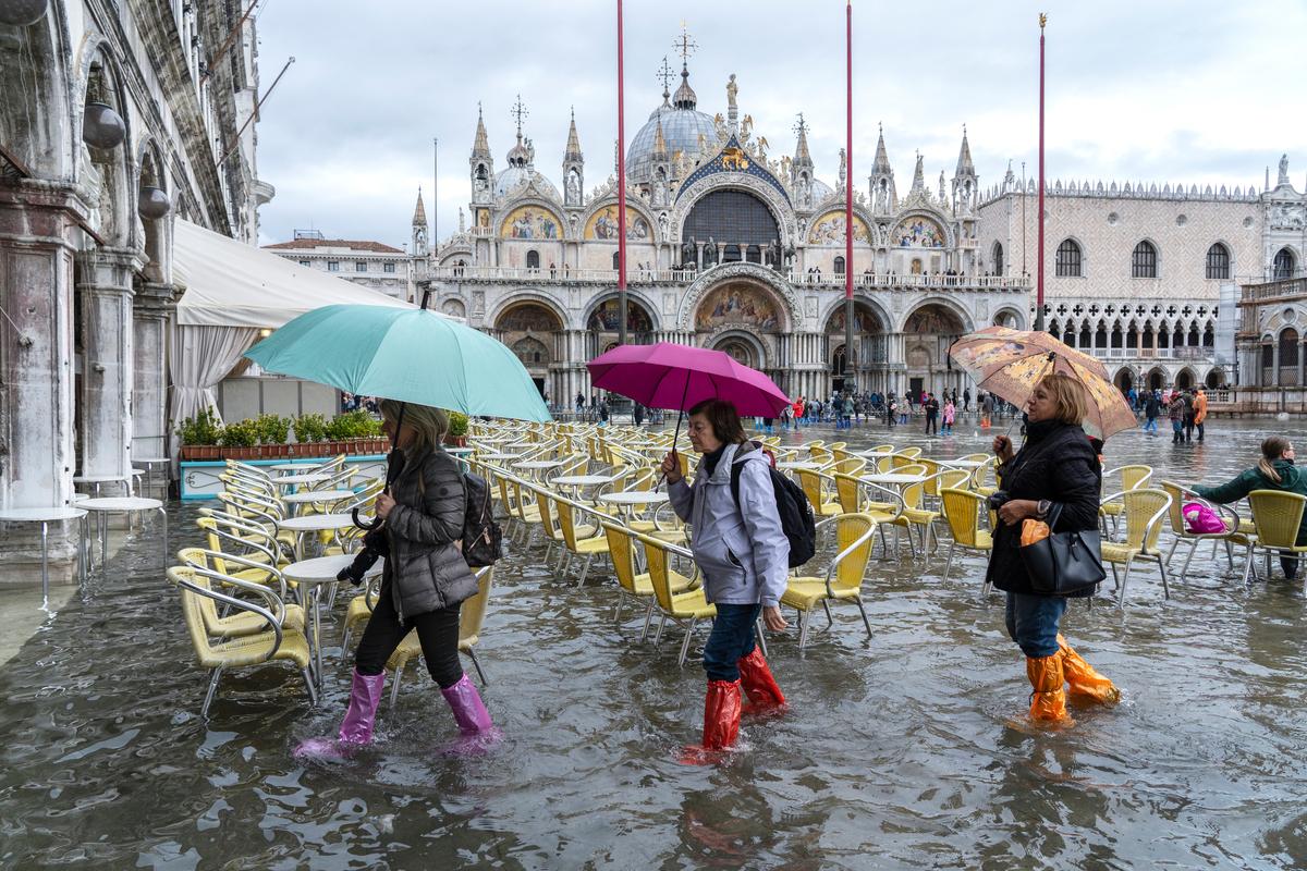 wenecja powódź