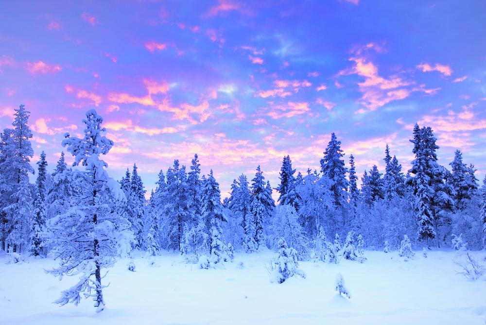 Szwecja zimą