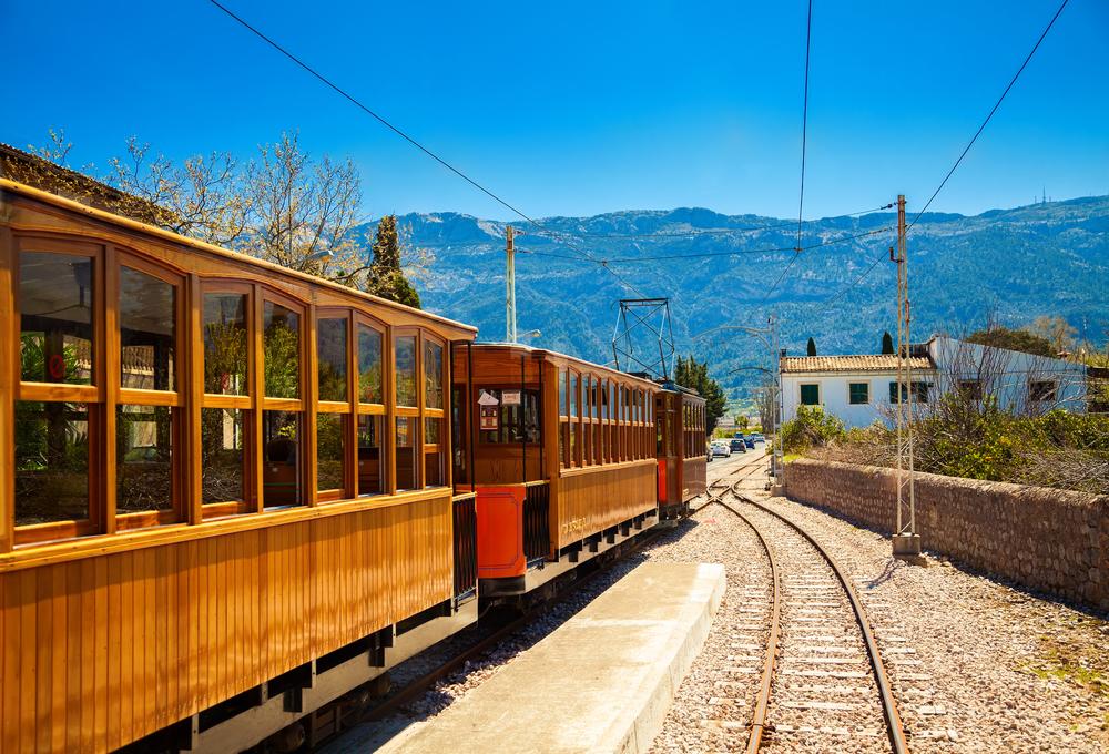Pociąg na Majorce