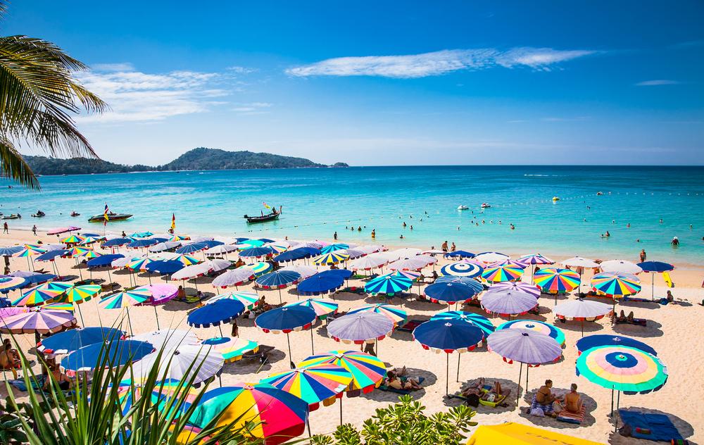 plaża a Patong