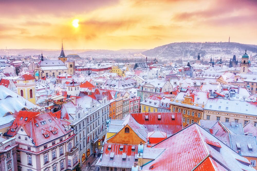 Panorama Pragi