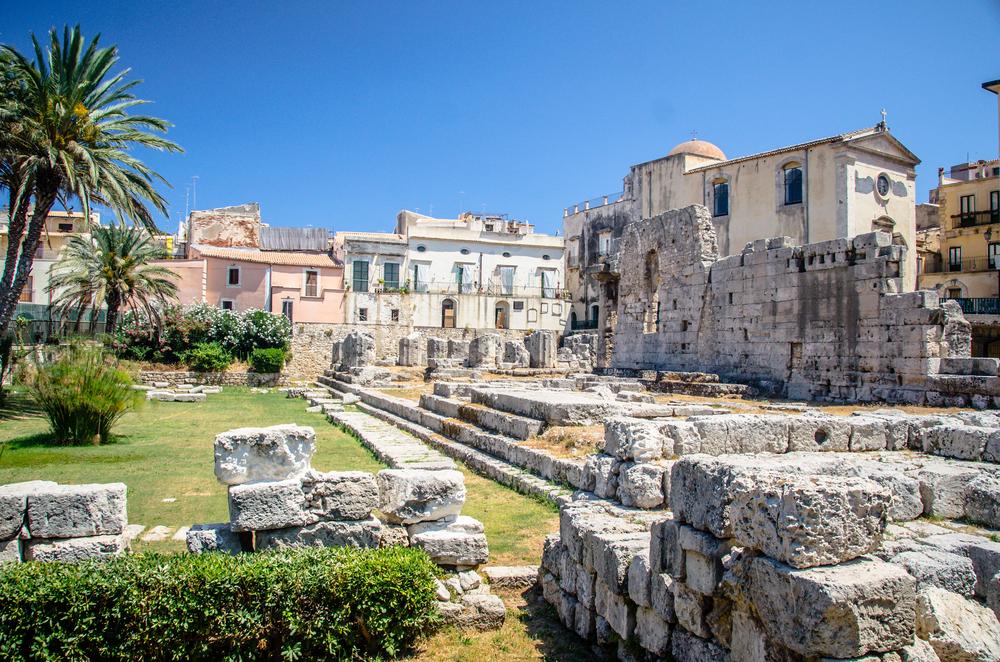 Ruiny w Syrakuzach