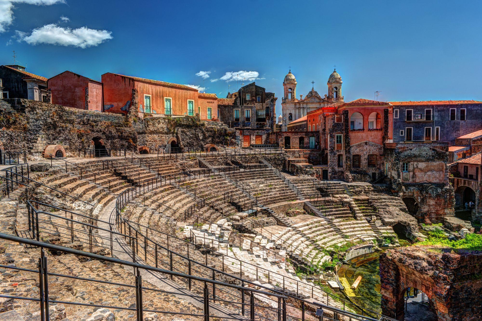 Amfiteatr w Katanii
