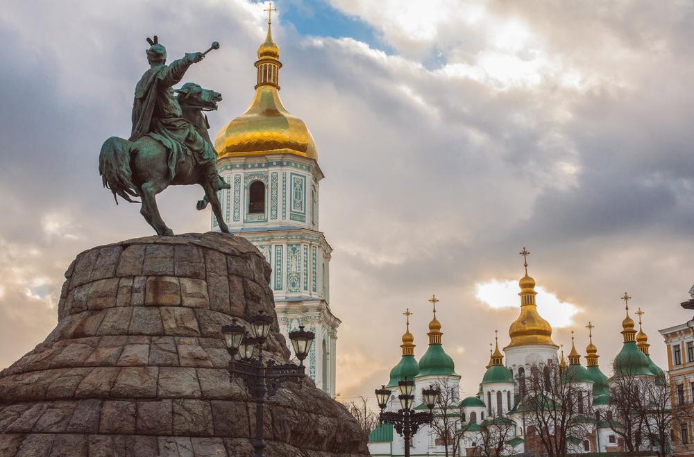Katedra z pomnikiem