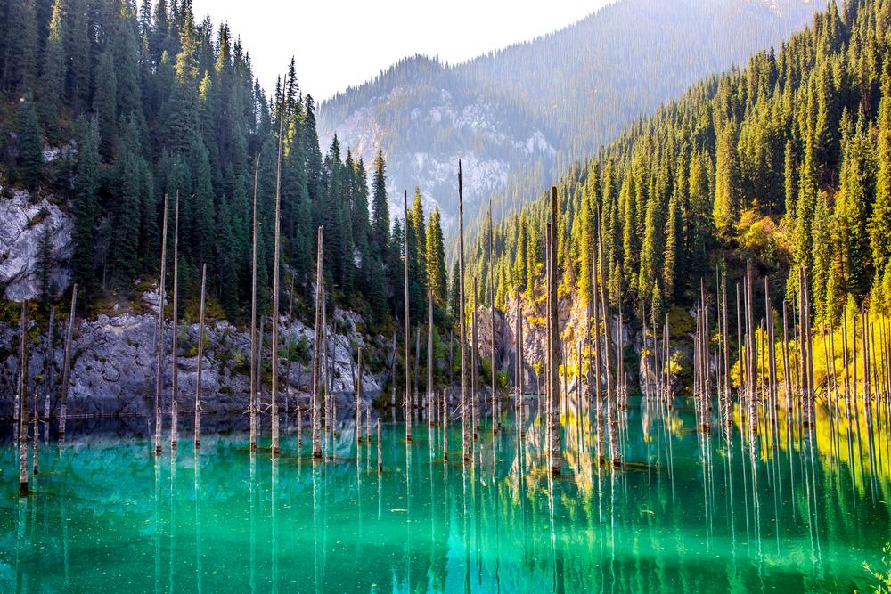jezioro kaindy