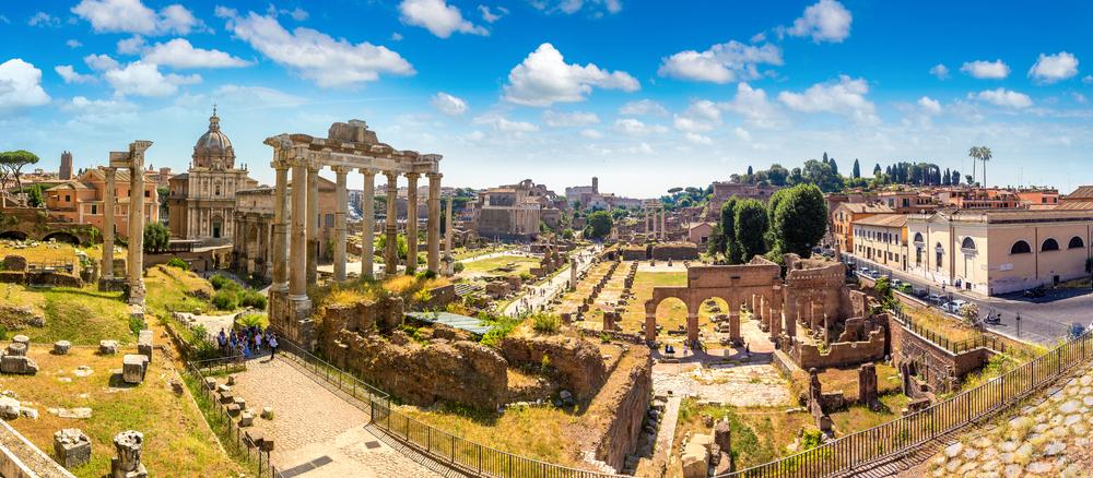 Rzym foto ruiny