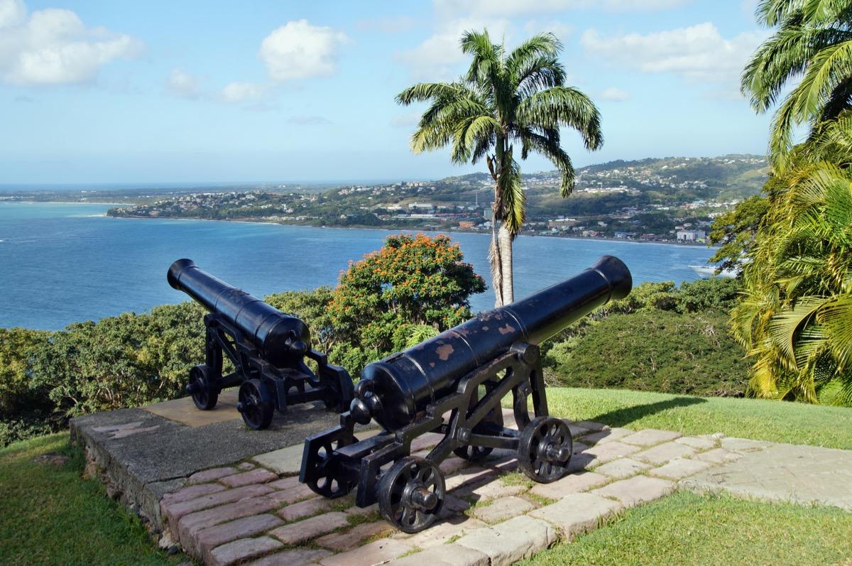 trynidad wybrzeze