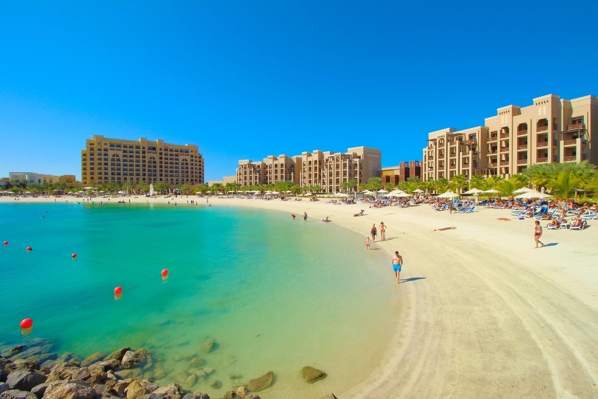 Ras Al Khaimah plaża