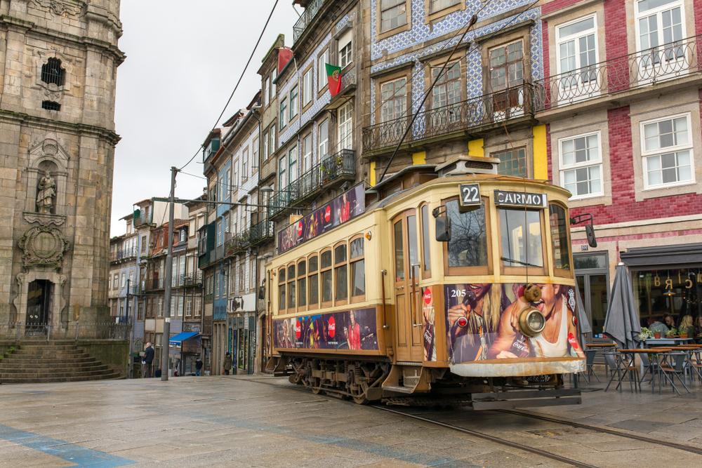 Porto tramwaj