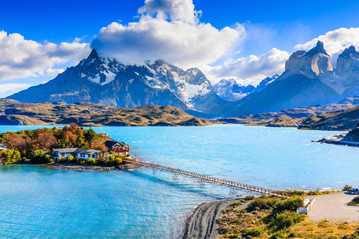 jezioro w Chile