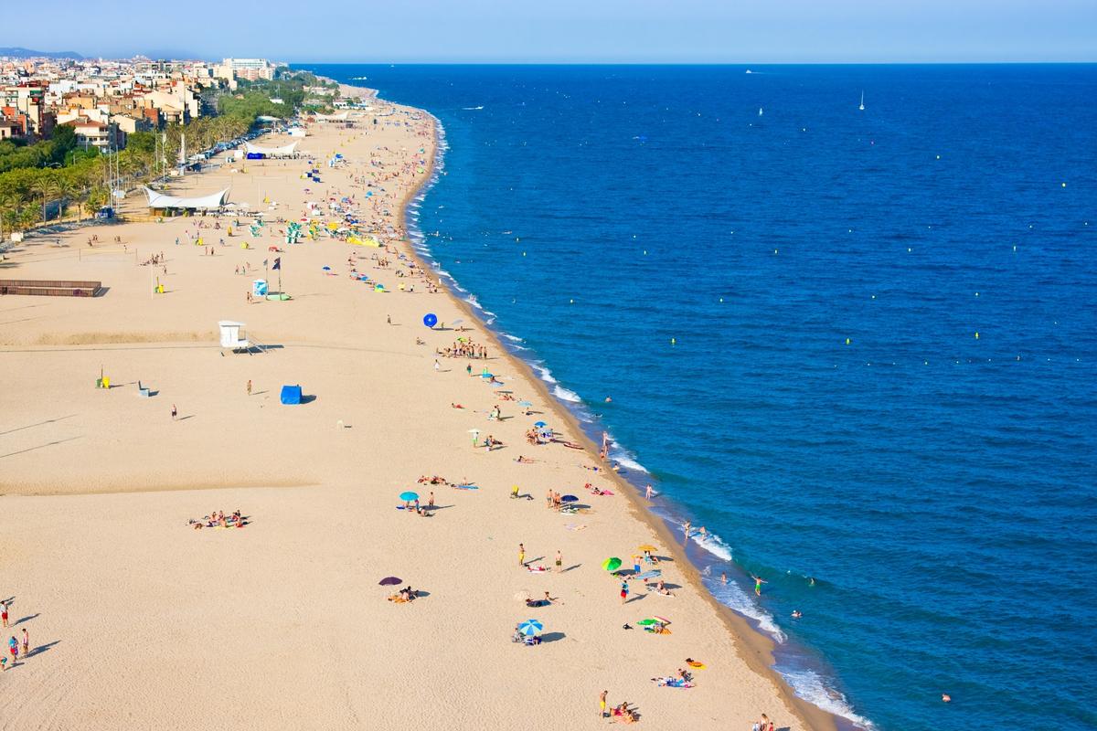 plaża na Costa Brava