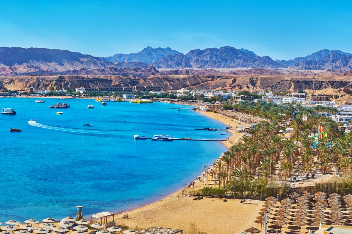 plaża w Szarm el-Szejk