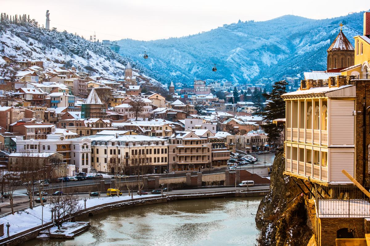 Gruzja zima