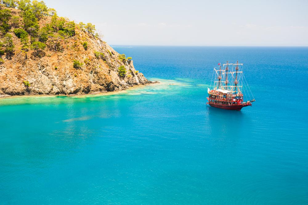 wybrzeże Turcji