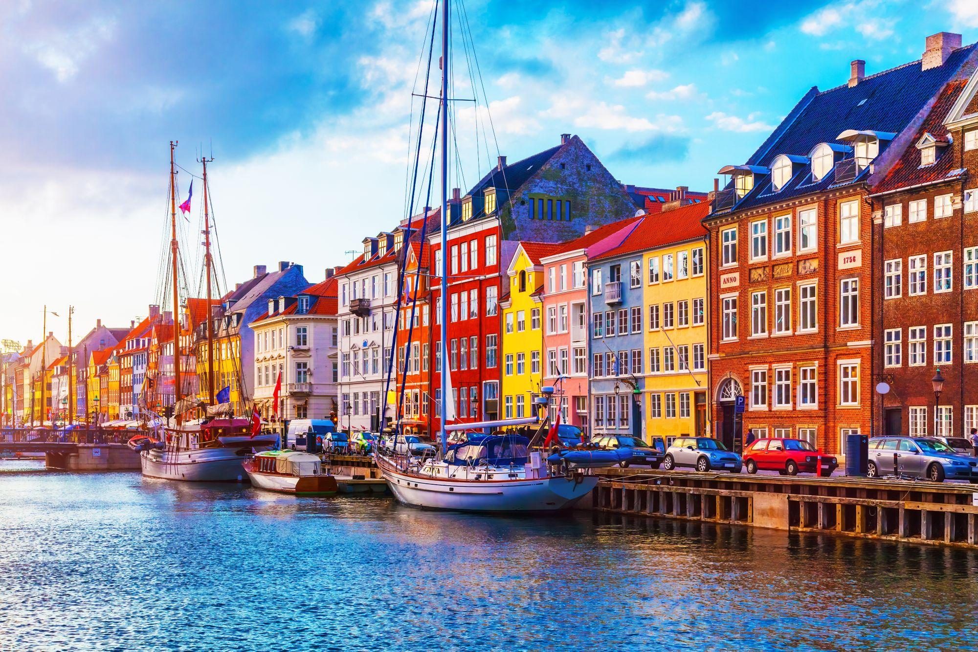 Nyhavn w Kopenhadze