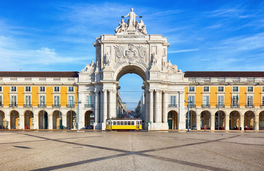 plac w Lizbonie